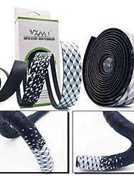 cheap -Bike Handlebar Tape Wearable Skidproof Ruler Comfortable For Road Bike Fixed Gear Bike Cycling Bicycle Soft Leather White Green Red