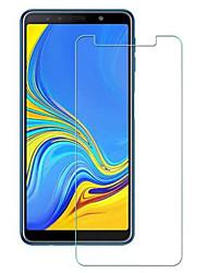 Недорогие -samsungscreen protectorgalaxy a7 (2018) Защитная пленка для экрана высокой четкости (hd) 1 шт. закаленное стекло