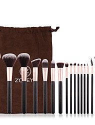 cheap -Professional Makeup Brushes 16pcs Cute Soft New Design Comfy Wooden / Bamboo for Makeup Brush