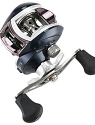 cheap -Fishing Reel Baitcasting Reel 8.1:1 Gear Ratio+7 Ball Bearings Right-handed / Left-handed Carp Fishing / Bass Fishing