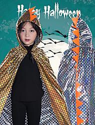 cheap -Dinosaur Halloween Props Kid's Adults' Boys' Halloween Halloween Festival / Holiday polyester fibre Sky Blue / Gold / Fuchsia Carnival Costumes