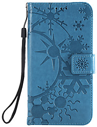 cheap -Phone Case For LG Full Body Case Leather LG G6 LG G5 LG G4 Card Holder Geometric Pattern PU Leather PC