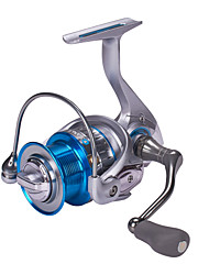 cheap -Fishing Reel Spinning Reel / Sea Fishing Reel 5.2:1 Gear Ratio+12 Ball Bearings Hand Orientation Exchangable Sea Fishing / Bait Casting / Spinning