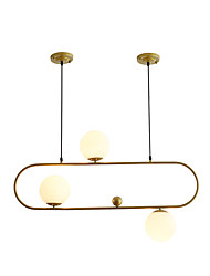 cheap -JSGYlights 3-Light Island Chandelier Ambient Light Painted Finishes Metal Glass New Design 110-120V / 220-240V