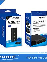 cheap -PS4 Slim 4-in-1 USB Hub Splitter Adapter for Sony PlayStation 4 Slim