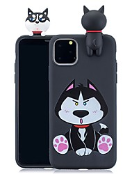 cheap -Case For Apple iPhone 11 / iPhone 11 Pro / iPhone 11 Pro Max Pattern Back Cover 3D Cartoon TPU