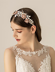 cheap -Alloy Headbands / Headdress with Floral / Flower / Metal 1pc Wedding / Party / Evening Headpiece