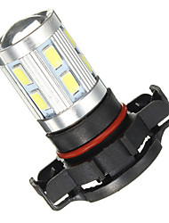 cheap -1pcs 12V PSX24W/H16 White 6000K LED Bulbs 5730/5630 SMD Fog Driving Light