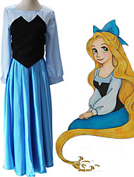 cheap -Inspired by The Little Mermaid Cosplay Anime Cosplay Costumes Japanese Dresses Dress For Women's