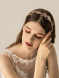 cheap -Alloy Headbands / Headdress with Glitter / Crystal / Rhinestone / Metal 1pc Wedding / Party / Evening Headpiece