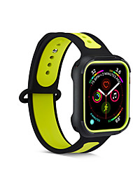 cheap -Case with Band For Apple Watch Series 5 / Apple Watch Series 4 / Apple Watch Series 3 TPU Compatibility Apple