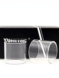 Недорогие -YUHETEC Intake RTA 2 ед. Стеклянная трубка Vape Электронная сигарета for Взрослый