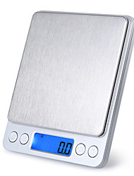 cheap -3kg Portable Auto Off LCD-Digital Screen Electronic Kitchen Scale Mini Pocket Digital Scale Home life Kitchen daily