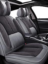 abordables -bas de voiture coussin hiver nouvelle peluche bas siège chaud siège siège ensemble fournitures intérieures