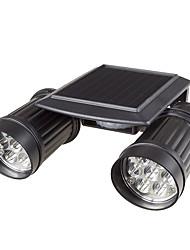 Недорогие -1 шт. 7 Вт газонные светильники / настенные светильники для наружного освещения / светодиодный уличный фонарь водонепроницаемый / солнечный / новый дизайн белый 3,2 В наружное освещение / бассейн /