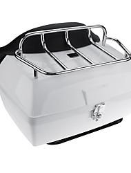Недорогие -48л мотоцикл самокат задний багажник задняя верхняя часть багажного отсека чемодан для harley универсальный