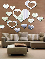 cheap -Decorative Wall Stickers - Mirror Wall Stickers 3D Bedroom / Dining Room