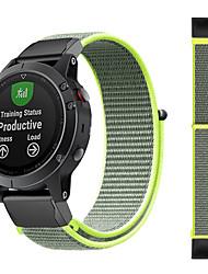 abordables -bracelet en nylon sport pour bracelet de montre garmin fenix 6x pro / fenix 5x plus / fenix 3h / fenix 3 saphir / d2 bravo