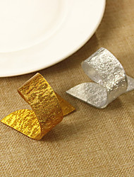 cheap -Acrylic Wedding Napkins - 4 pcs Napkin Rings Wedding / Festival Classic Theme / Creative