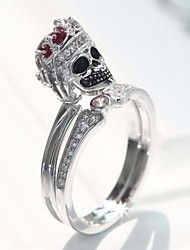 cheap -Women's Ring 1pc Silver Silver-Plated Alloy Fashion Daily Jewelry Cat