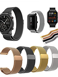 cheap -Stainless Steel Milanese Watch Band Strap For Huami Amazfit GTS/Amazfit Bip/GTR 42mm