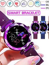 cheap -Smartwatch Digital Modern Style Sporty 30 m Water Resistant / Waterproof Heart Rate Monitor Bluetooth Digital Casual Outdoor - Purple Gold Blue