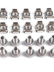 cheap -10PCS Professional Cage Rack Nuts M6 Bolt M6*20 Models A1830 Items