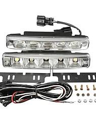 cheap -2Pcs 10W DC 12V LED Daytime Driving Running Bumper Fog Lights Lamps Car Truck Boat SUV