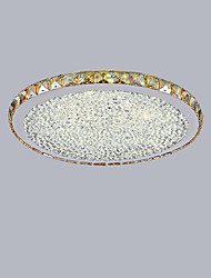 cheap -1-Light 44.5 cm Mini Style / LED Flush Mount Lights Metal Crystal Painted Finishes Modern Contemporary 110-120V / 220-240V