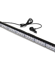 cheap -1pcs 28 LED Car Flashing Warning Light Bar Traffic Flash Strobe Lamp DC12V Amber & White