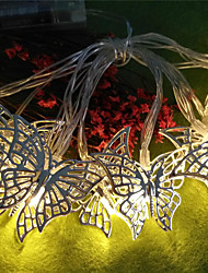 cheap -One Piece 1.5m String Light Creative Butterfly Household Simple Lighting