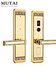 cheap -Factory OEM S109109/YB Zinc Alloy / Aluminium alloy Card Lock / Password lock Smart Home Security Android System RFID / Password unlocking Home / Office / Hotel Wooden Door (Unlocking Mode Password