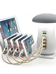 Недорогие -Зарядное устройство USB AYG001 5 Настольная зарядная станция С быстрой зарядкой 3.0 Стандарт США / Евро стандарт / Стандарт Великобритании Адаптер зарядки