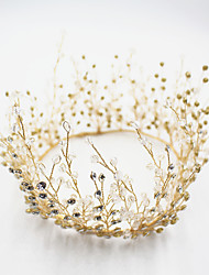 cheap -Rhinestone / Alloy Tiaras / Headbands / Headdress with Sparkling Glitter / Crystals / Glitter 1pc Wedding / Party / Evening Headpiece