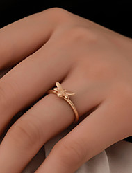 cheap -Women's Ring 1pc Gold Silver Copper Street Jewelry