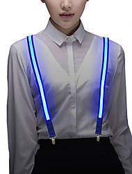 abordables -BRELONG® 1pc Lumière décorative / LED Night Light / Lampe boule disco Blanc / Rouge / Bleu Bouton alimenté par batterie Imperméable / Cool / Lampe d'ambiance <5 V