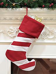 cheap -Christmas Socks Christmas Tree Decorations Christmas Socks Hanging Christmas Non-woven Large Gift Bag