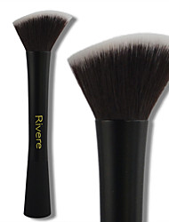 cheap -Professional Makeup Brushes 1 Piece Soft New Design Comfy Synthetic Hair Aluminium for Foundation Brush