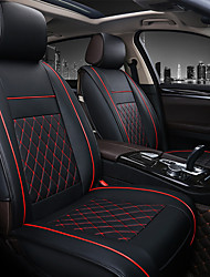 cheap -PU Leather Breathable Non-slip Car Seat Covers Cushion Accessories Single seat cover without headrest and lumbarrest for Universal
