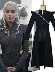 abordables -Inspiré par Game of Thrones Cosplay Manga Costumes de Cosplay Japonais Costumes Cosplay Jupes / Manteau / Châle Pour Femme