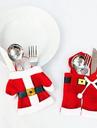 Недорогие -2шт рождественские одежды и брюки формы нож и вилка сумки / праздничные украшения новогодние