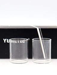 Недорогие -YUHETEC Crius RTA 4.2ml 2 ед. Стеклянная трубка Vape Электронная сигарета for Взрослый
