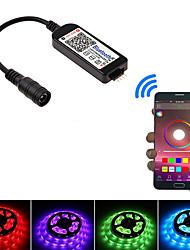 cheap -1pc 5-24 V Bulb Accessory / Strip Light Accessory / APP Plastic & Metal Accessories / RGB Controller for RGB LED Strip Light // 2835 5050 RGB Light Strip Mobile APP Wireless Bluetooth Transmission