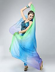 cheap -Belly Dance / Dance Accessories Headpieces / Veil Women's Training / Performance Silk Tie Dye Headpiece