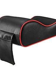 cheap -PU Leather Car Armrest Pad Memory Foam Universal Auto Armrests Covers with Phone Pocket