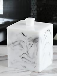 Недорогие -Творческий мраморный ватный тампон квадратный отсек гостиная зубочистка простой ватный тампон для хранения сокс рабочий стол косметическая коробка