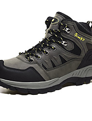 cheap -Men's Comfort Shoes PU Fall Athletic Shoes Hiking Shoes Brown / Army Green / Gray
