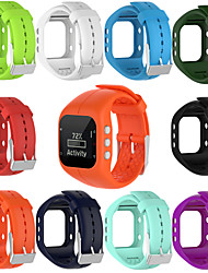 cheap -High Quality Comfortable Silicone Replacement Watch Band Wrist Strap for PolarA300 Smart Watch Wristband Strap