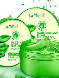 cheap -300g LAMILEE Natural aloe vera Smooth Gel Acne Treatment Face Cream for Hydrating Moist Repair After Sun