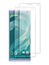 cheap -Screen Protector Sony Xperia 10 Plus / 1 / L3 / L2 / XZ3 / XA1 / XZ2 Compact / XA2 Ultra High Definition (HD) Front Screen Protector 2 pcs Tempered Glass